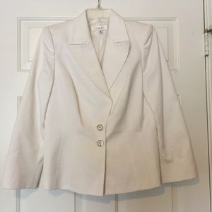 White Escada blazer